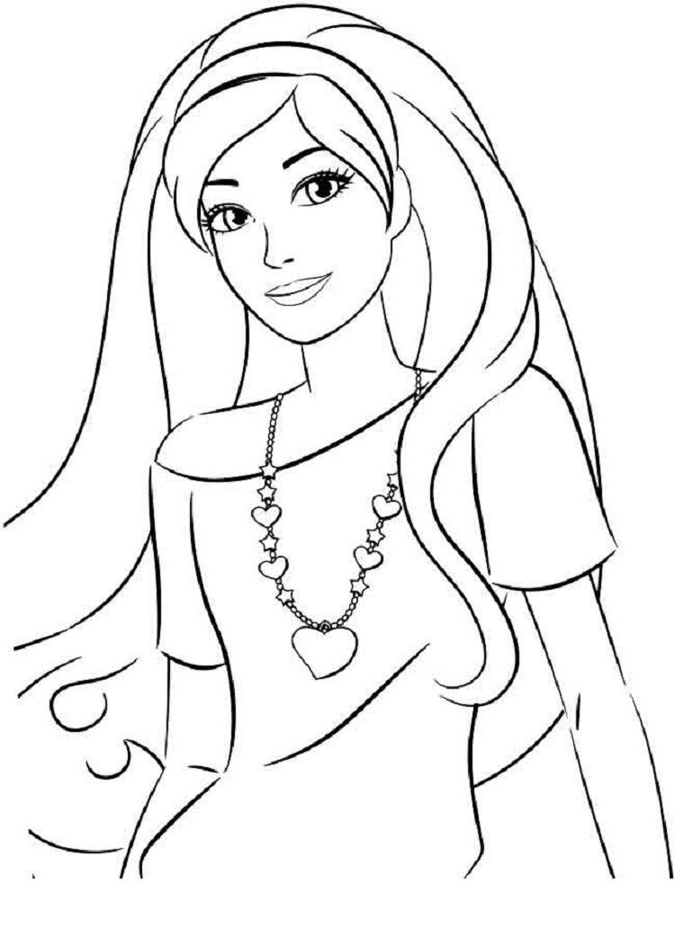 Barbie Coloring Pages You Can Print Mermaid Coloring Pages
