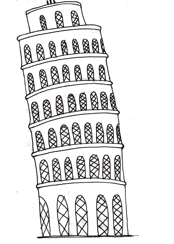 Pin Van Krishna Raj Op My Work Italie Pisa Toren