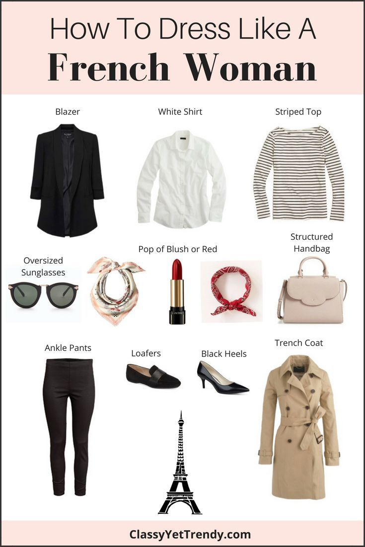 How To Dress Like a French Woman (Trendy Wednesday #110