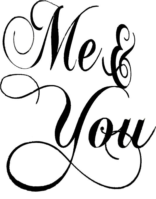 Me You Lettering Quotes Be Yourself Quotes