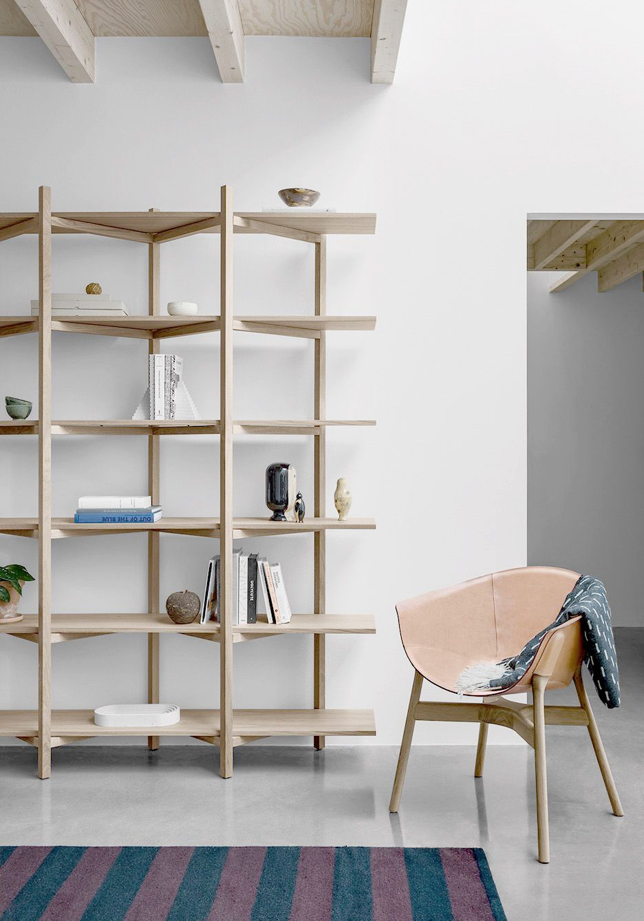 Wood Storage Shelves Small Spaces
