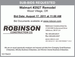 Construction Business Bid Proposal Template Excel  Business