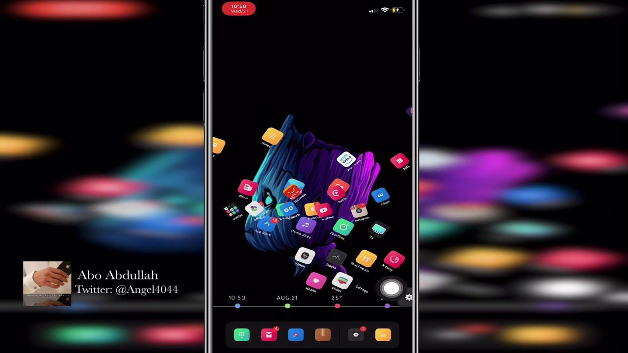 استعراض بعض ادوات السيديا و سيلو Ios 12 رقم 9 Youtube Iphone Desktop Screenshot