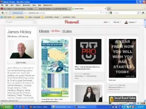 How to use Pinterest for Business. Long video, but it's informative.