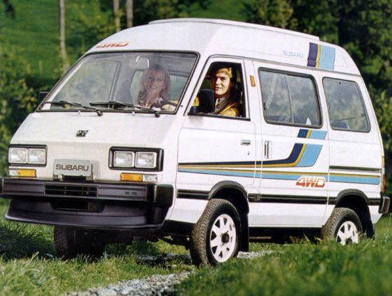 The Subaru Sumo Needs To Come Back Subaru Toyota Van Van