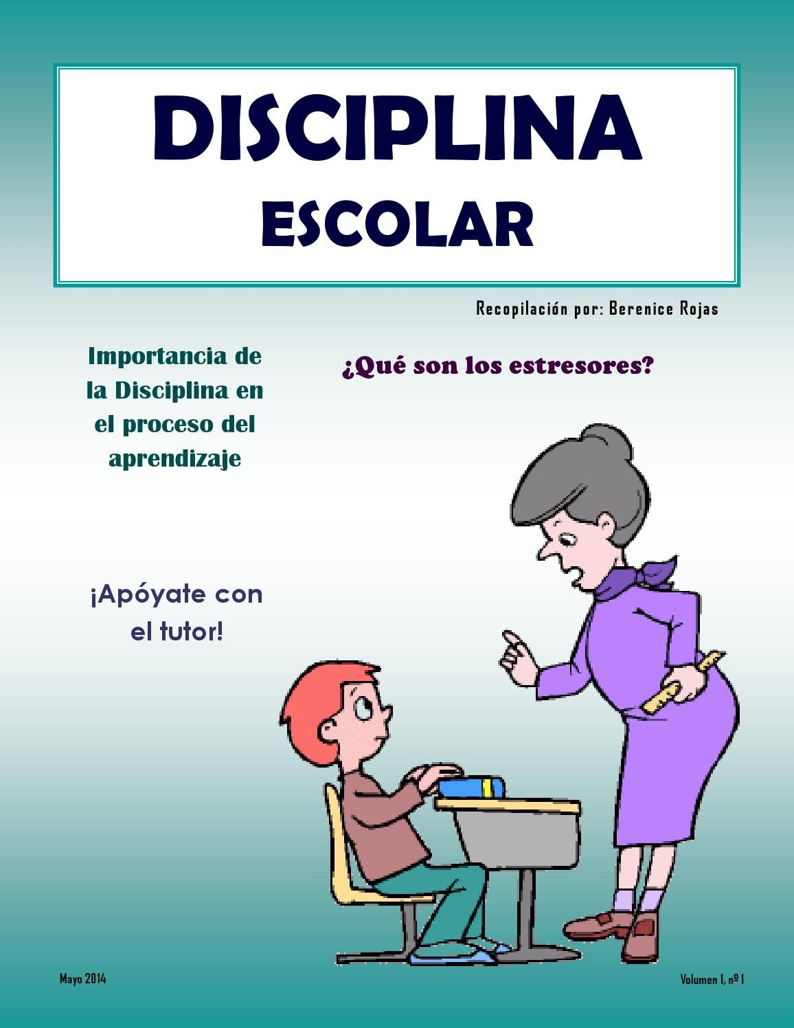 Disciplina Escolar Educativo Pinterest Berenice