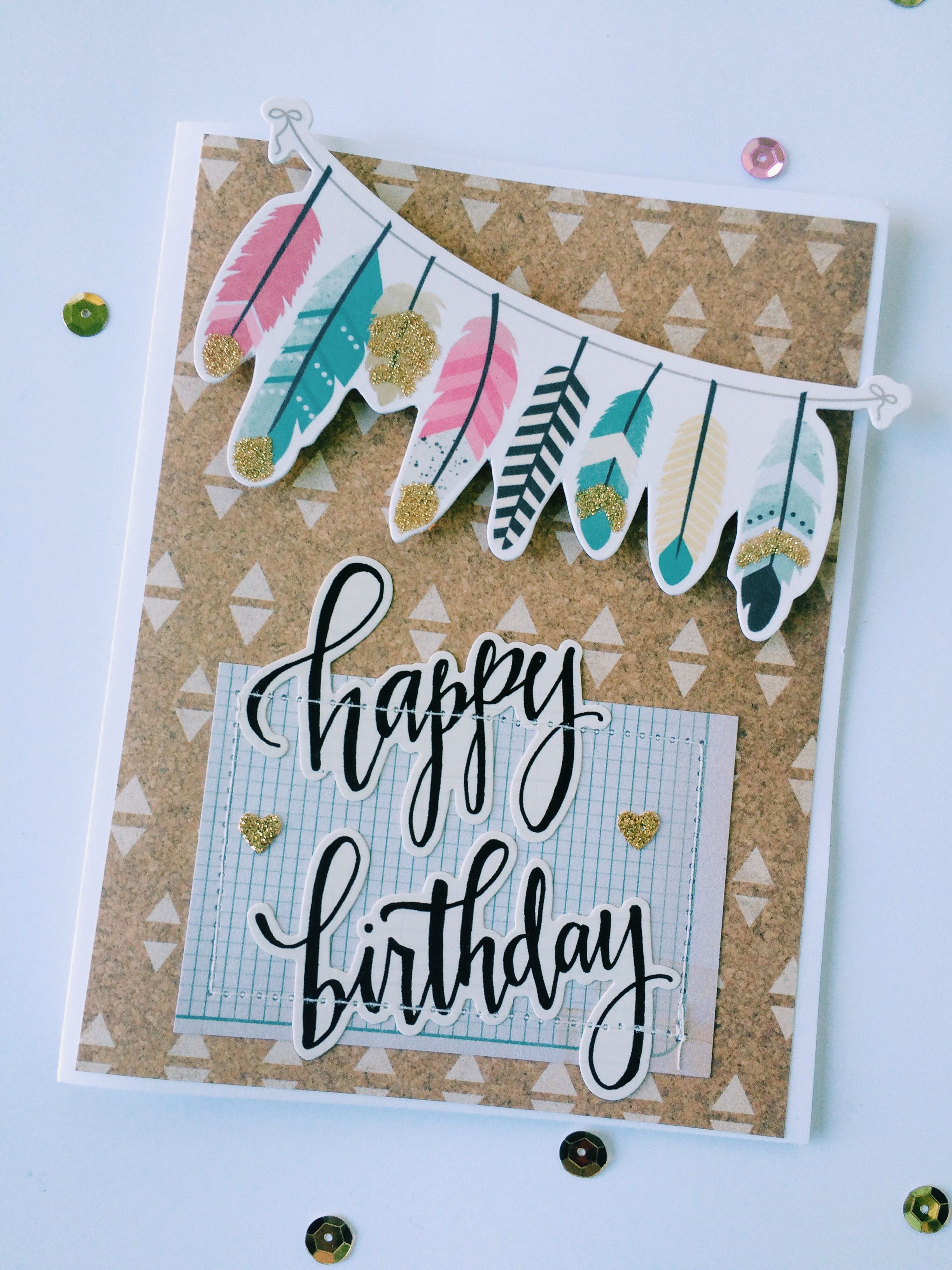 Happy Birthday Card Using Crate Paper Journey Maggie Holmes