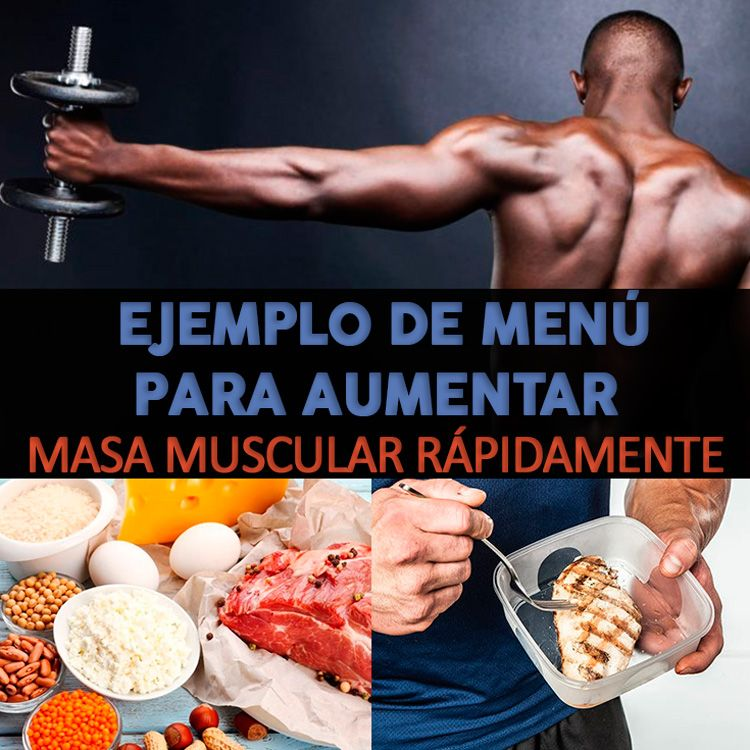 Vitaminas para incrementar masa muscular