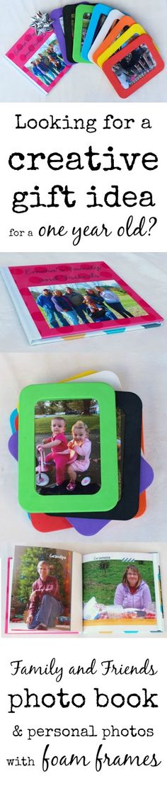 Creative gifts for one year olds part 3 of 3 photos of family a creative and personalized gift idea for a one year old or a toddler a negle Image collections