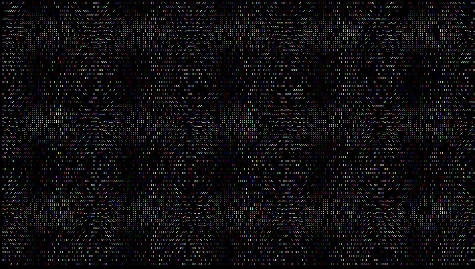 Project Random Binary Wallpaper Generator Con's Coding