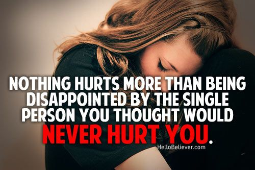 i thought you would never hurt me..!