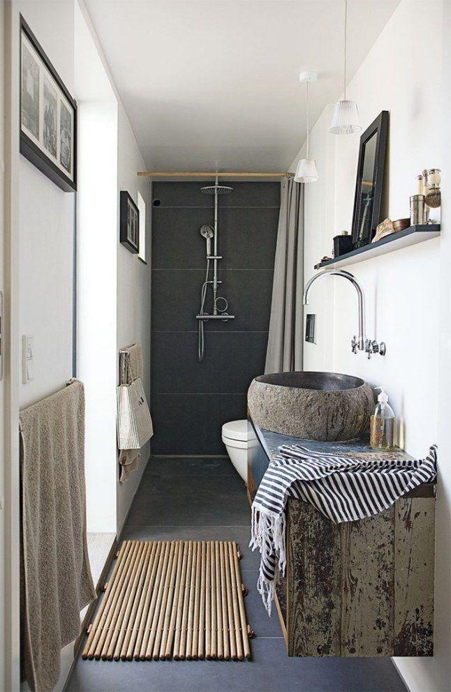 Aménagement pour petite salle de bain !   wwwm-habitatfr/par