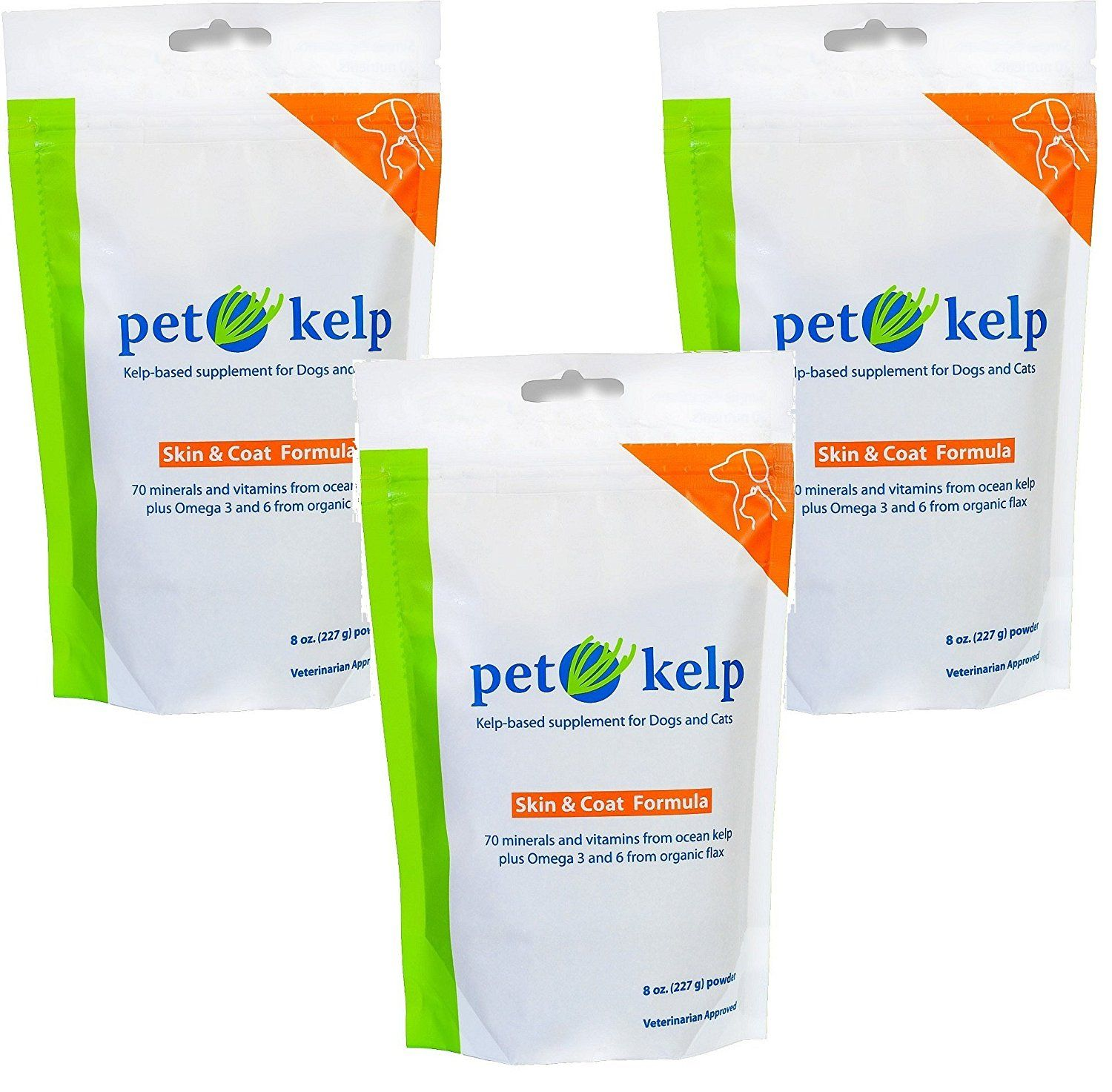 3 Pack Pet Kelp Skin And Coat Formula 8 Ounces Each Details Can Be Found By Clicking On The Image This Is An Dog Vitamins Pet Supplements Dog Supplements