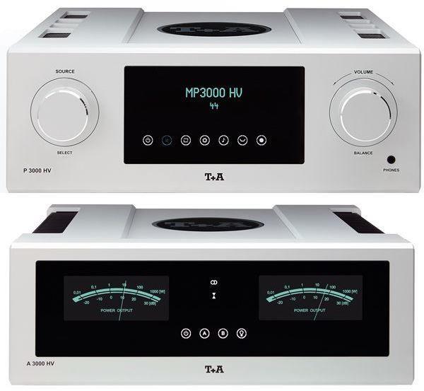 T+A P3000HV Preamplifier and A3000HV Power Amplifier