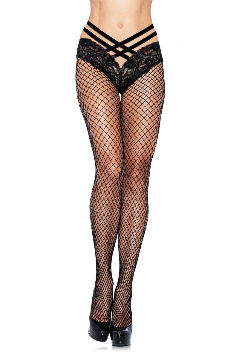 92631003657 Buy Black Industrial Net Lace Pantyhose Hosiery with cheap price hosiery  online store which also sales