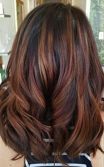 70 Fall Hair Color Hairstyles For Blonde Brown Red Carmel