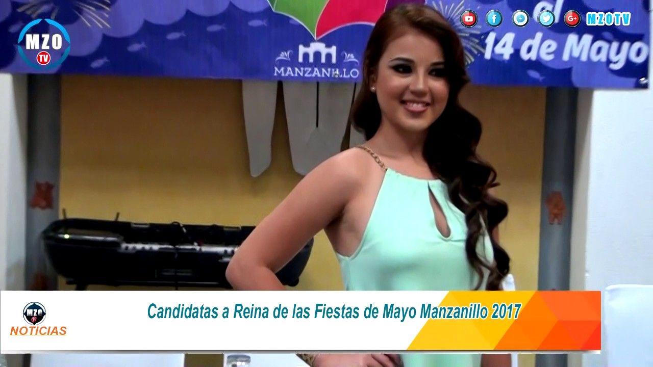 Sexys candidatas a Reina de las Fiestas de Mayo Manzanillo 2017