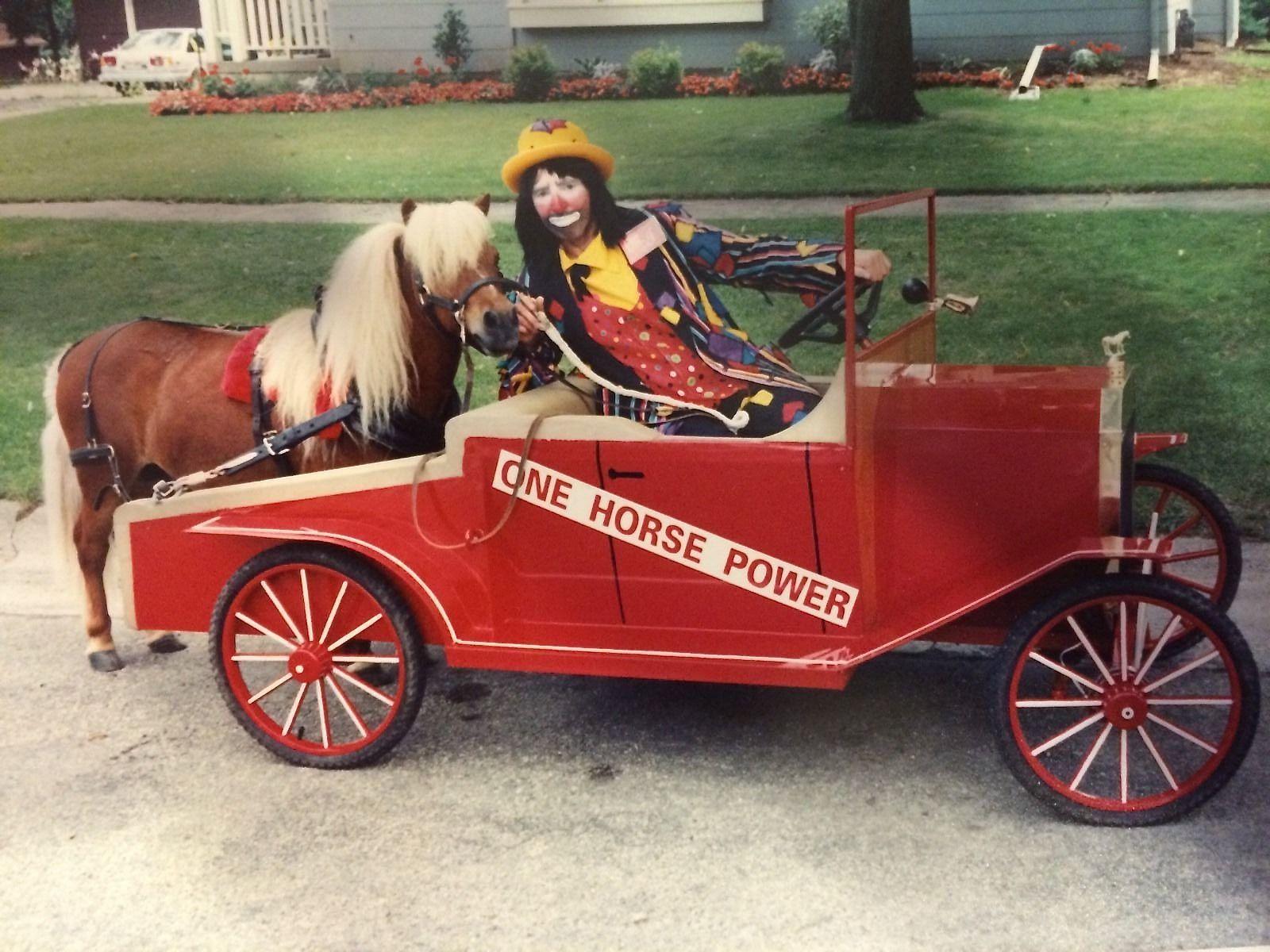 One Pony Wagon Ford Model T Replica Parade Wagon Horse Drawn