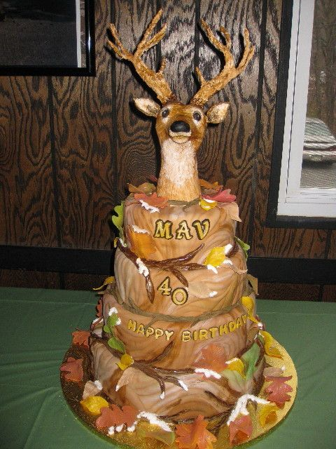 deer cake Cake ideas Pinterest Deer hunting Deer cakes and Cake