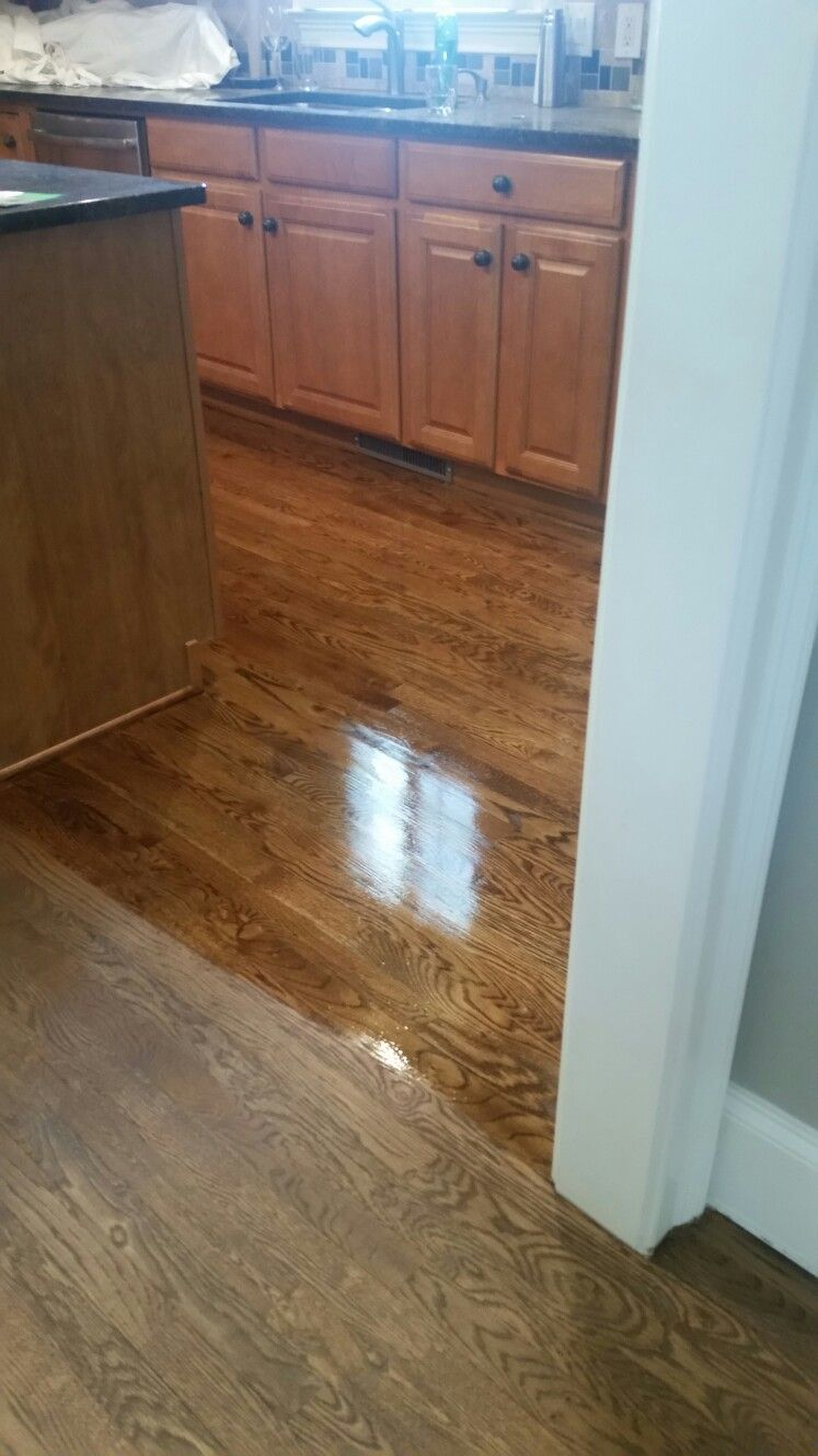 Special Walnut Dark Walnut Mix Half And Half On White Oak