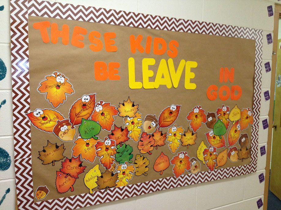 Richfield Church Of Christ Mn Fall Bulletin Board Idea For 2 3 Year Olds As Well Prek 2nd Grade And 3r Boards Old Teacher Churches