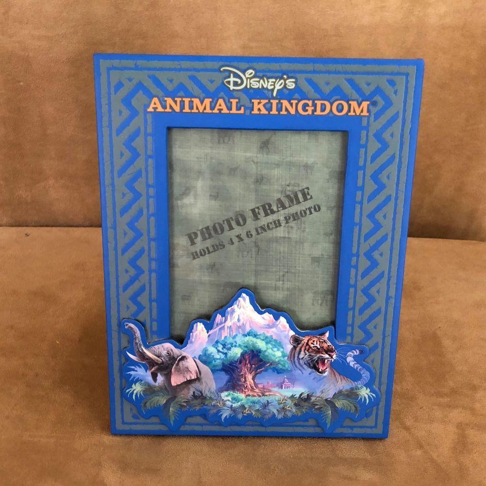 Walt Disney World Animal Kingdom Picture Frame blue 3x5\