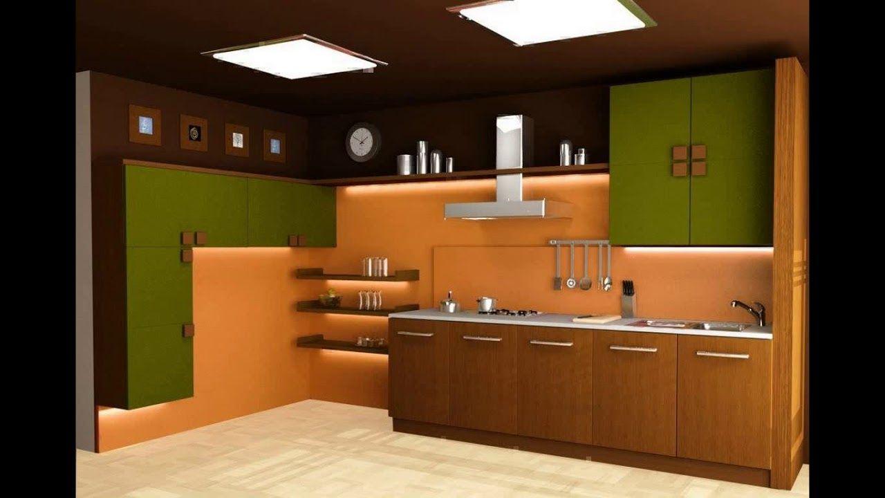Indian style modular kitchen design   YouTube kitchen ...
