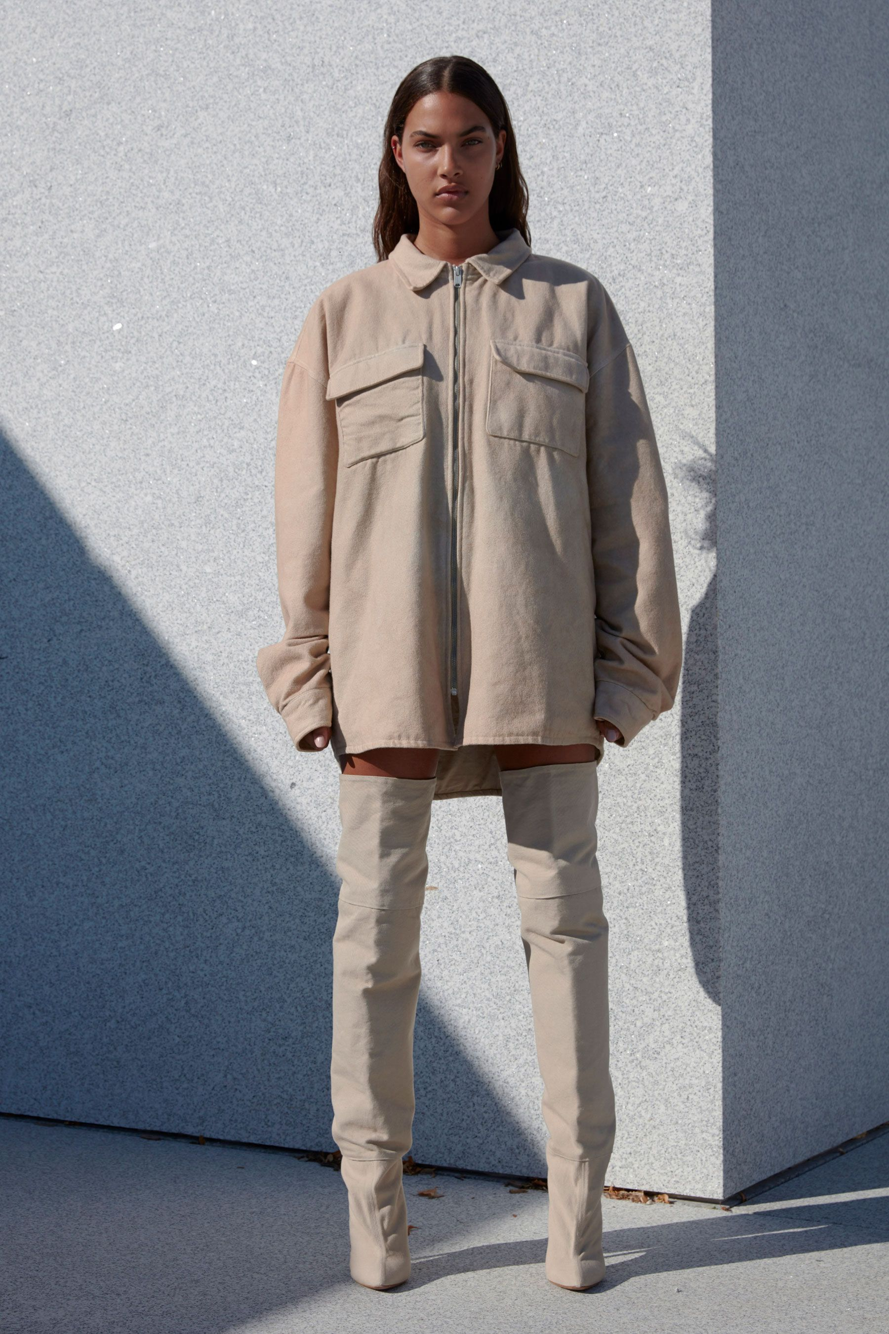 Enjoy Every Look From Kanye S Yeezy Season 4 Fashion Show Yeezy Fashion Fashion Spring 2017 Fashion Trends