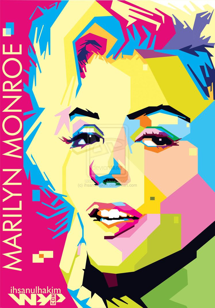 Marilyn Monroe pop art poster | ⊱Marilyn ❤ Monroe⊰ | Pinterest ...