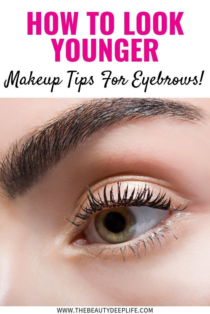 Your eyebrows can impact what people perceive your age to becheck out these m