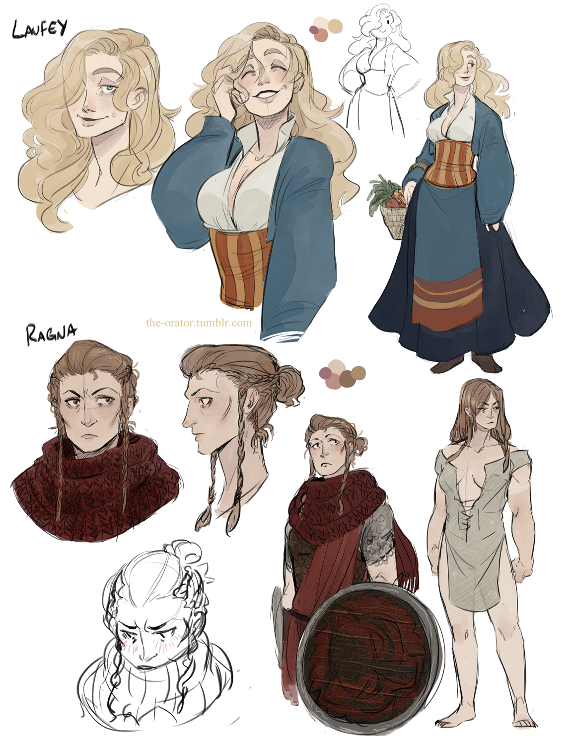 Skyrim Character Design Ideas : Art by kayla marquez website http the orator