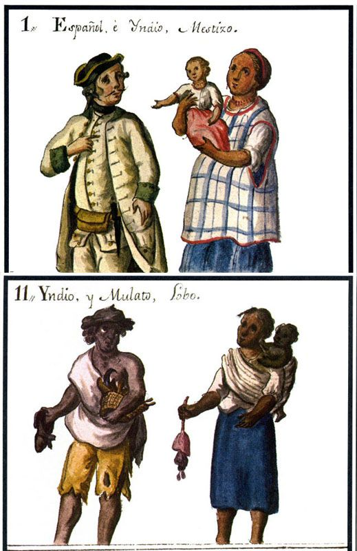 Pin On New Spain S Caste System