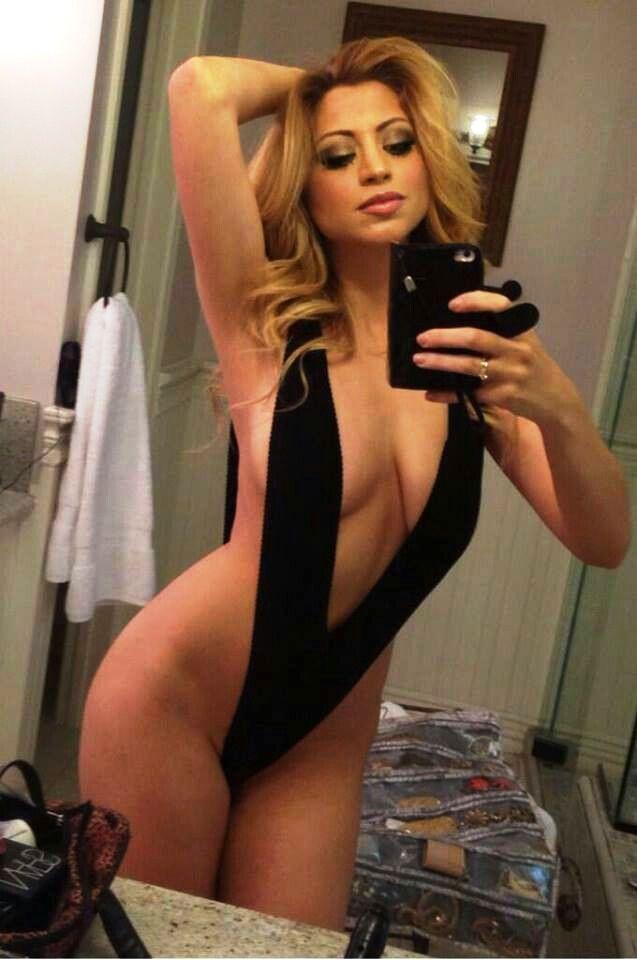 Selfies girlfriend Blonde ex