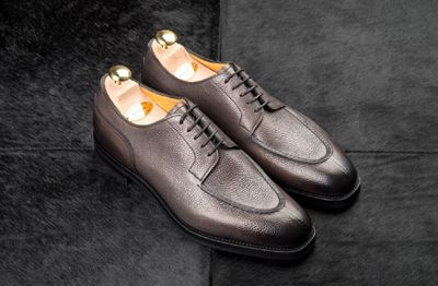 646c0300965ec8 Edward Green Split-toe Dover ... For a roundup of all the new arrivals at  LeatherFoot this week - including Alden shoes