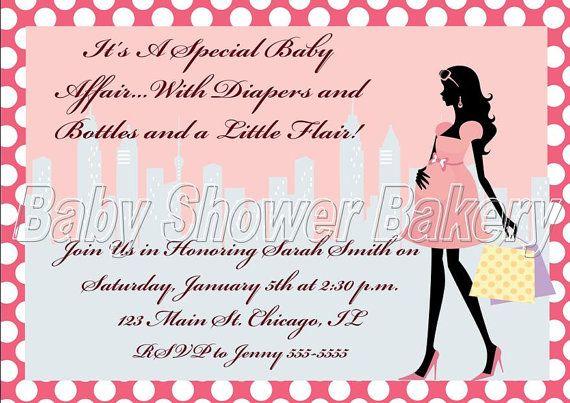 Customized Baby Shower Invitation