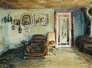 "John Matthew, my own fabulous brother - Striped Chair You can buy his prints on fineartamerica.com then search artist ""john matthew"""