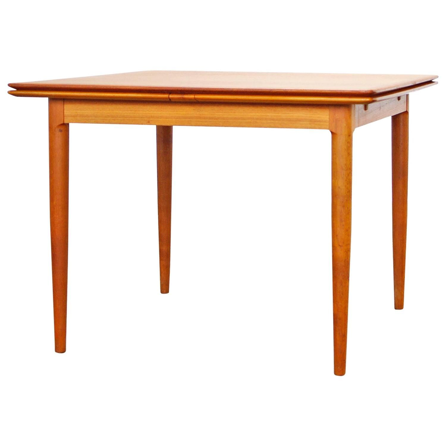 Danish Modern Teak Dining Tableskovmand & Andersen 1960S Mesmerizing Teak Dining Room Furniture Design Ideas