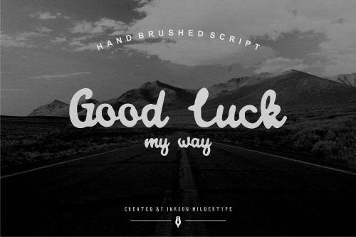 chrisbmarquez: Good luck my way by Inksun Mildertype   Script... on http://bit.ly/2e17gI3 http://bit.ly/1raFNJP