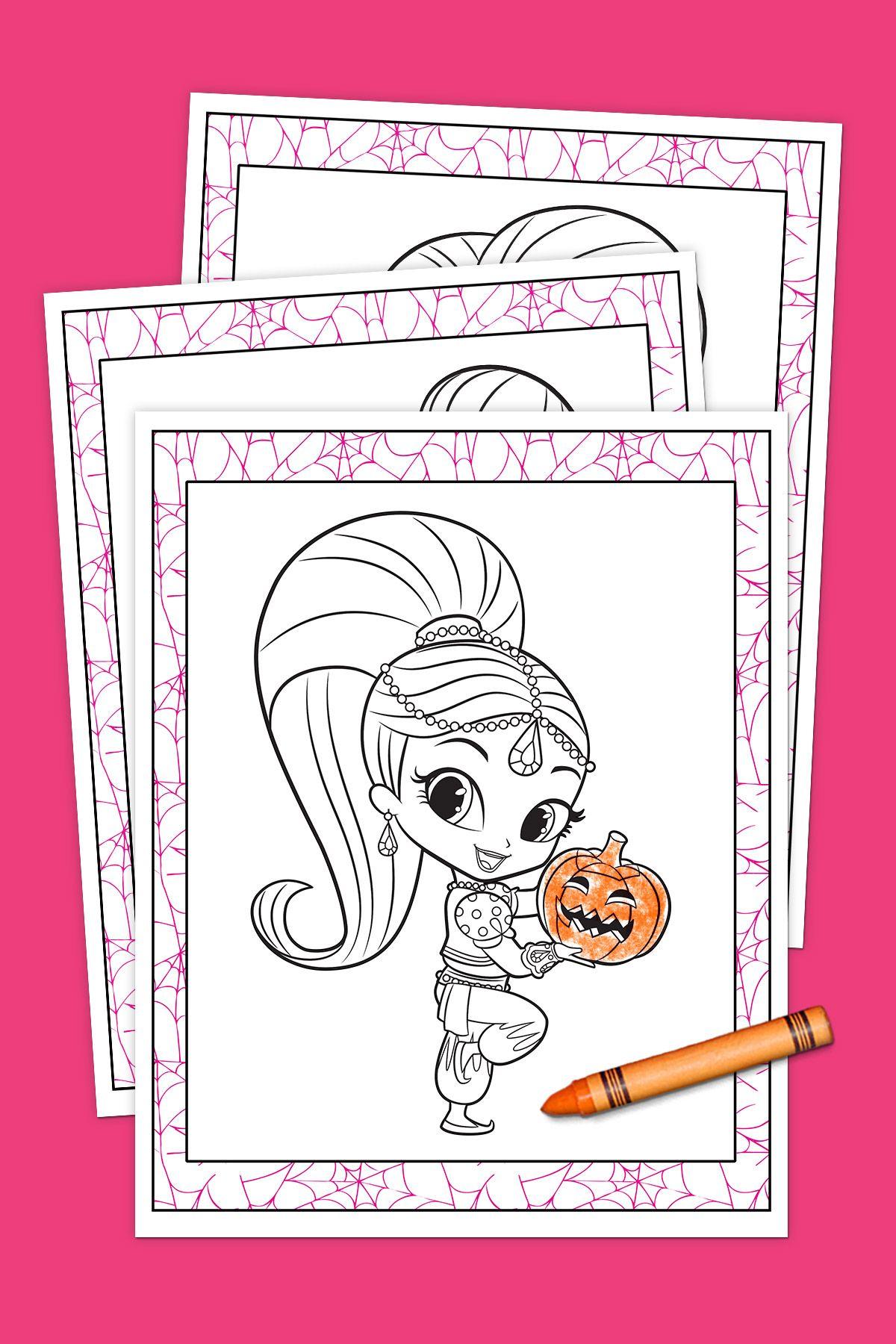 Berühmt Frei Bedruckbare Halloween Seiten Ideen - Druckbare ...