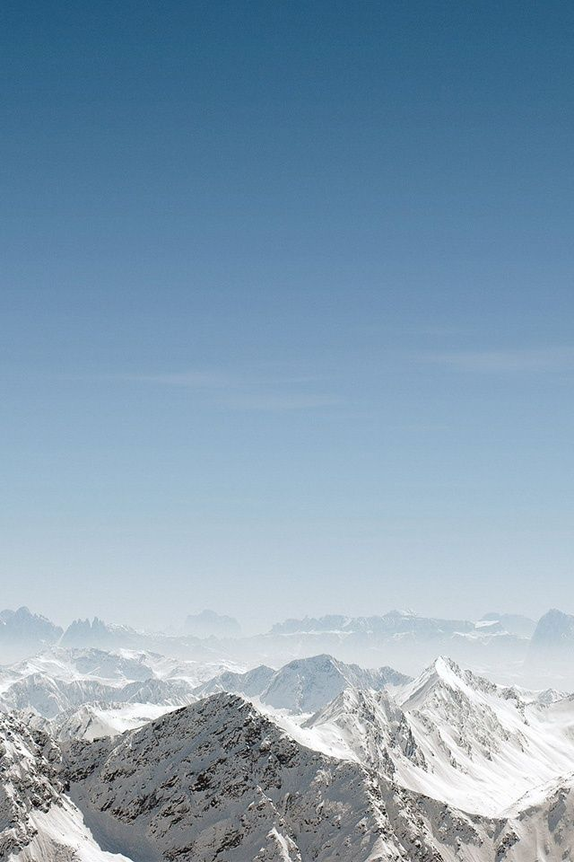 Snow Mountains Iphone Wallpaper Ipod Wallpaper Hd Free