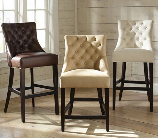 Fantastic Barrel Style Chair Tuffeted Pottery Barn Hayes Tufted Alphanode Cool Chair Designs And Ideas Alphanodeonline