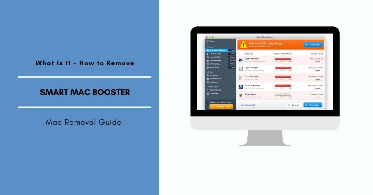 How To Remove Smart Mac Booster From Mac Os X With Images
