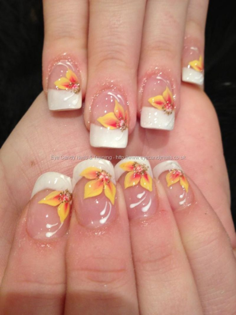 Wait Til You See #These 42 #Awesome Flower Nail Art #Designs ...
