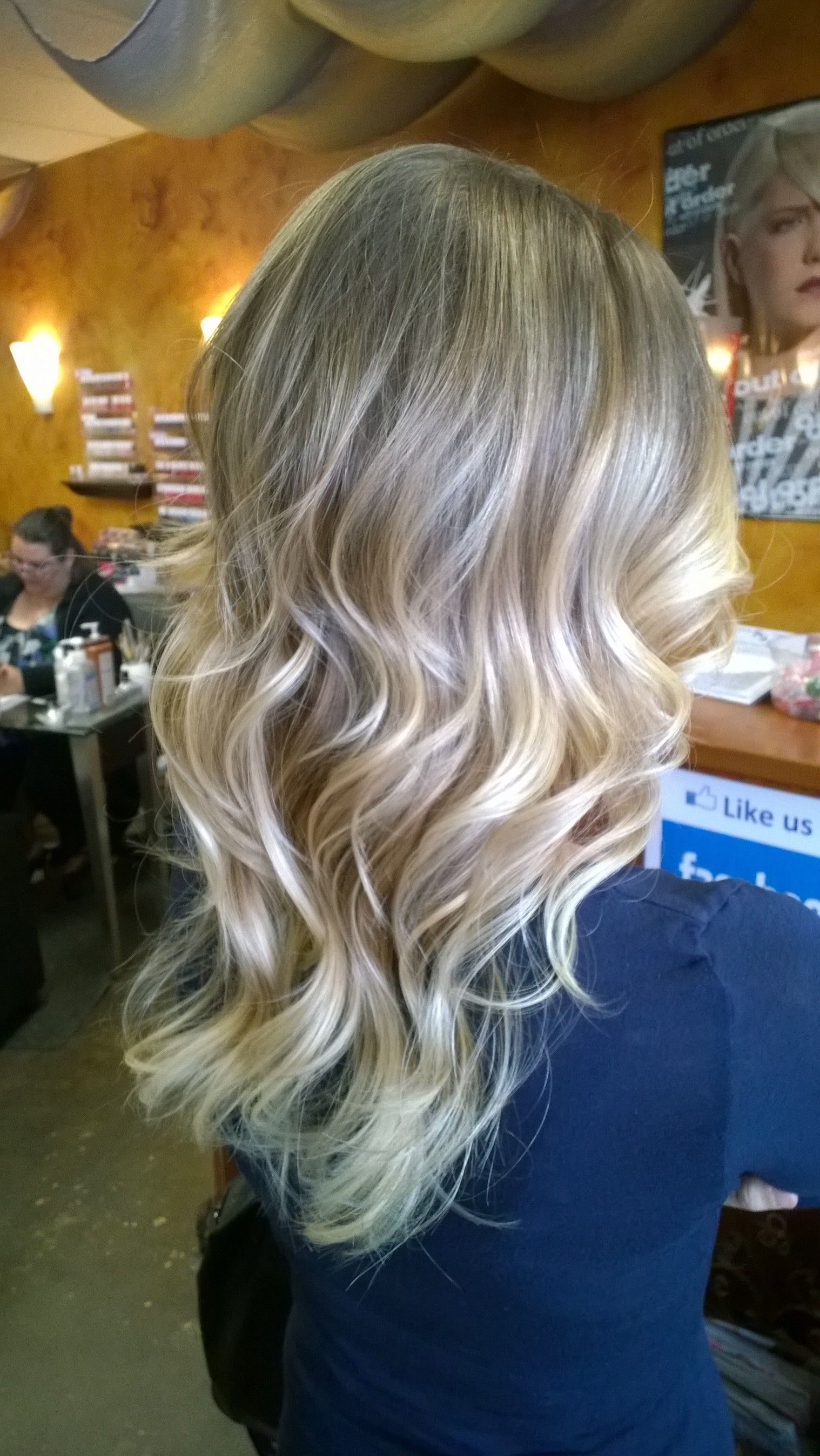 Blonde Ombre Hair Coloring Pretty Low Maintenance Look Done By