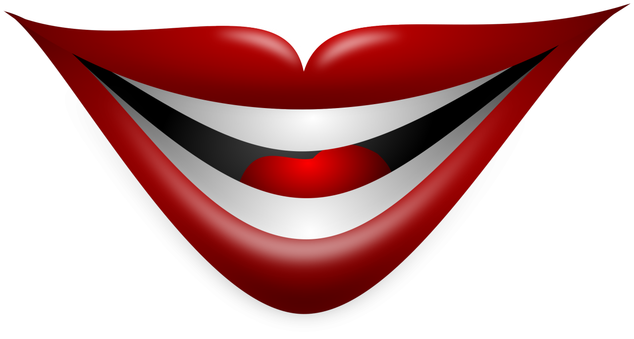 Pin By Iris Alba On A Cricut In 2020 Joker Smile Joker Mouth Clip Art