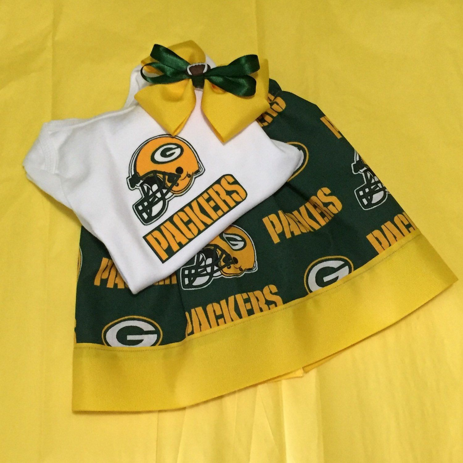 Green Bay Packers Inspired Outfit