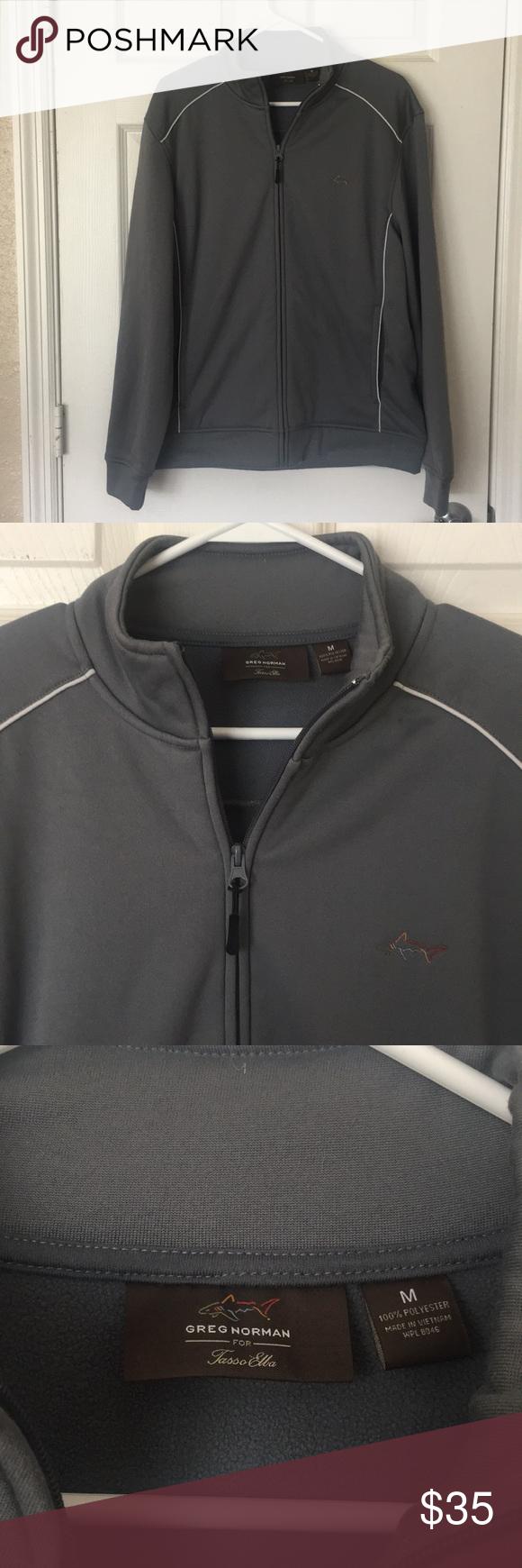 Greg Norman Track Suit Jacket Tracksuit Jackets Suit Jacket