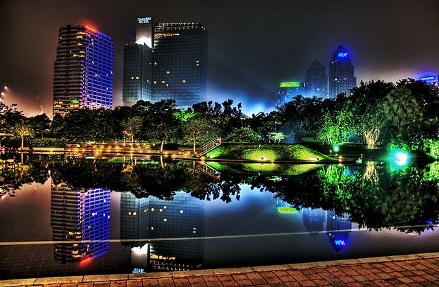 The Haze Of Kuala Lumpur Cool Desktop Wallpapers Cool Desktop Backgrounds Cool Backgrounds