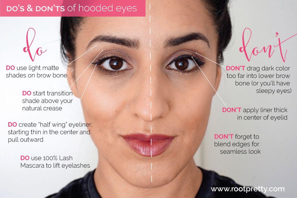 Pretty Tip Hooded Eyes Eyeshadow For Hooded Eyes Eyeliner For Hooded Eyes Hooded Eyes