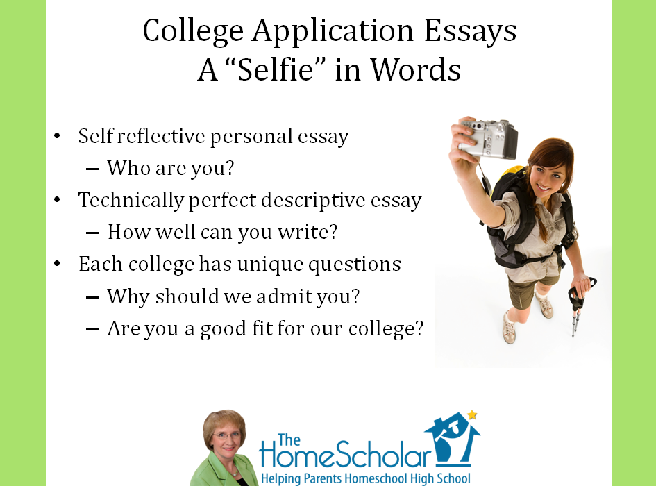 Help with writing essays for college applications